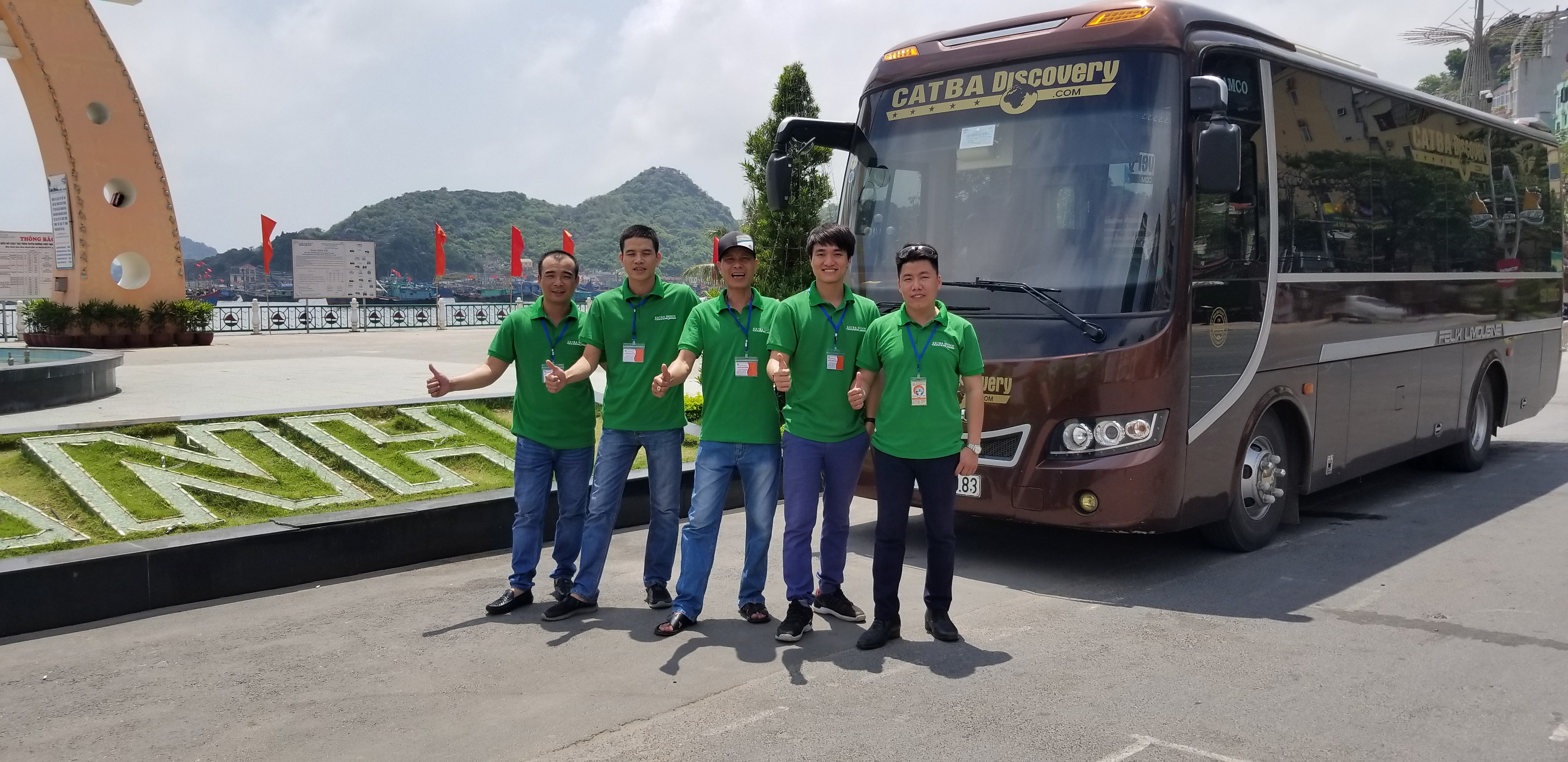 Bus from Ninh Binh to Cat Ba