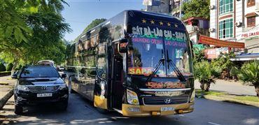 Xe bus Sapa - Cát Bà
