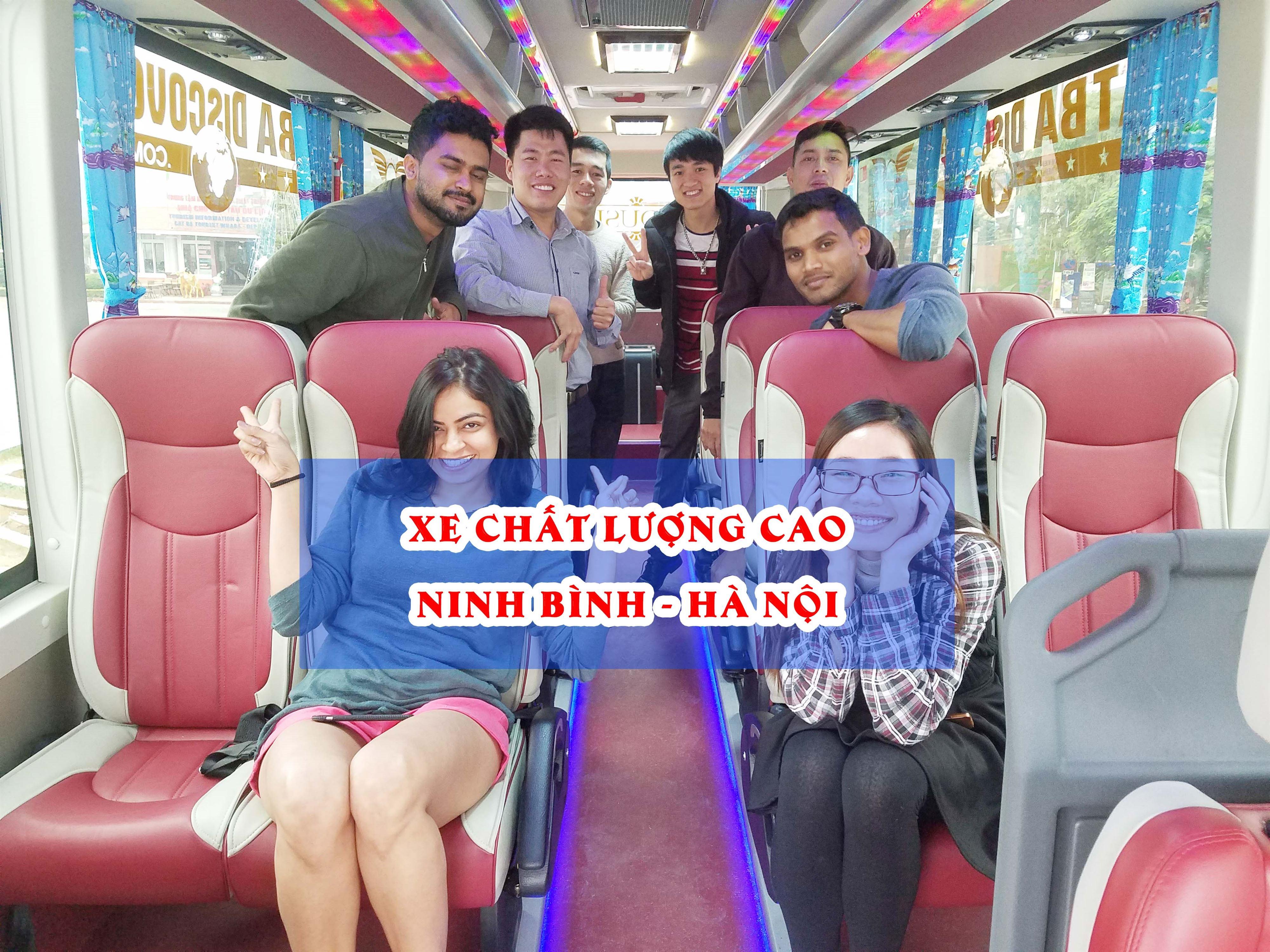 Xe Ninh Bình đi Hà Nội