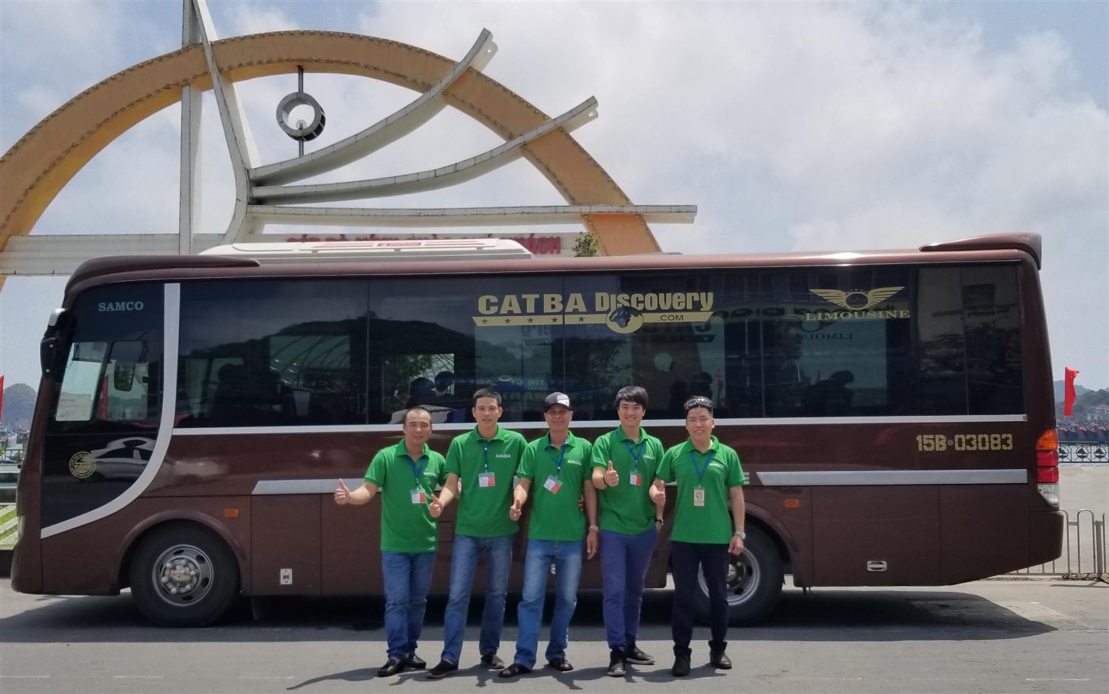 Bus Ninh Bình - Cát Bà