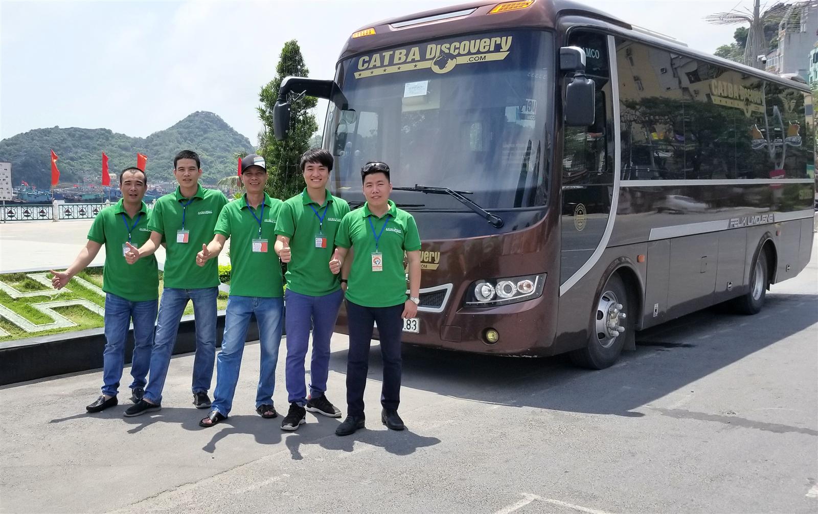 Xe Bus Cát Bà - Ninh Bình