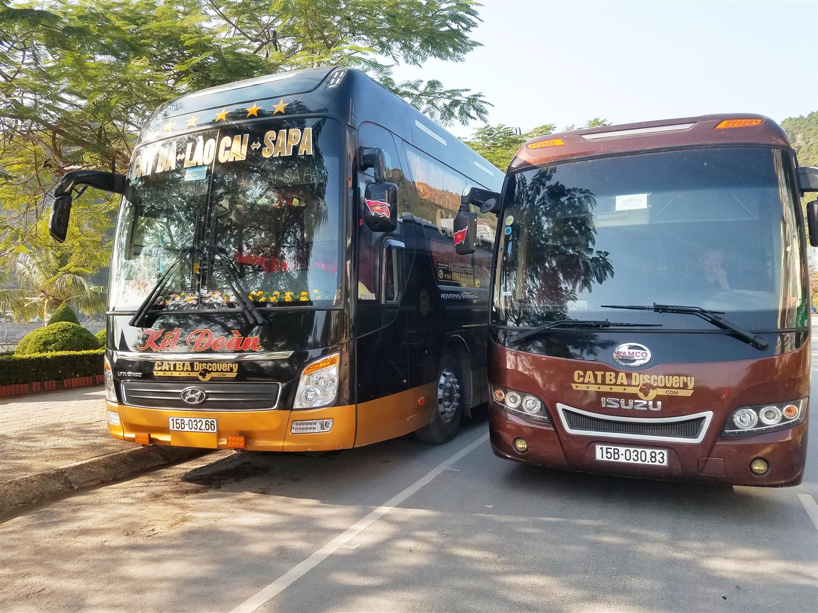 Bus Cát Bà - Sapa
