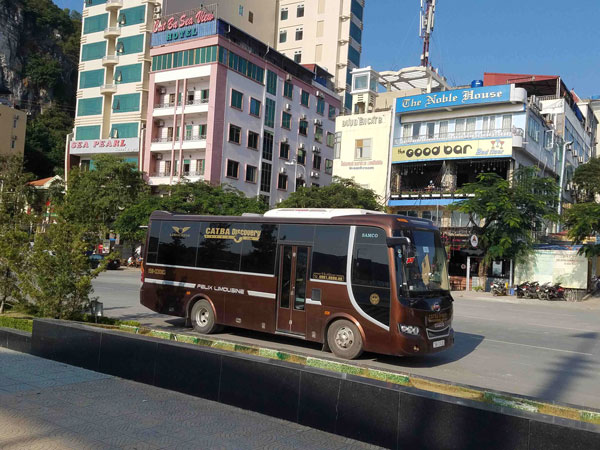 Bus from Cat Ba to Ninh Binh