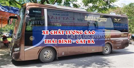 Xe Bus Thái Bình - Cát Bà - Thái Bình